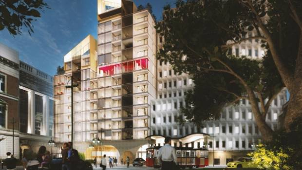 Construction of Cathedral Towers apartments could begin in April next year, making it the first new building in ...