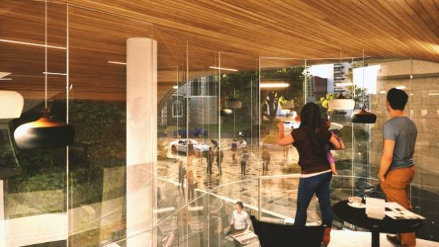 A mezzanine floor will overlook Westpac Lane.