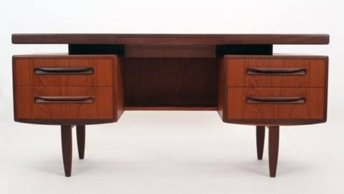 The G Plan Floating desk is a vintage piece from Skandi priced at $1900.