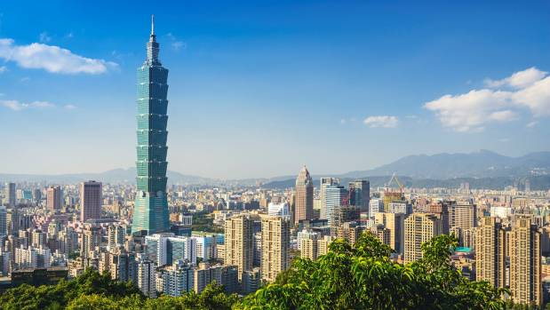 Toshiba until recently held the record with its lift in the Taipei 101 Tower.