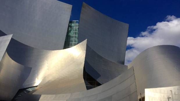 The Walt Disney Concert Hall was designed by celebrated Canadian-American architect Frank Gehry.
