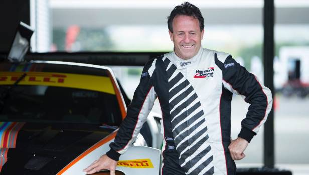 Tony Quinn has teamed up with Greg Murphy for the Hampton Downs 101 event.
