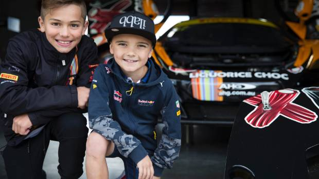 The Australian GT Series will headline the Hampton Downs 101. Ryder Quinn, 11 is excited to watch his dad and grandpa ...