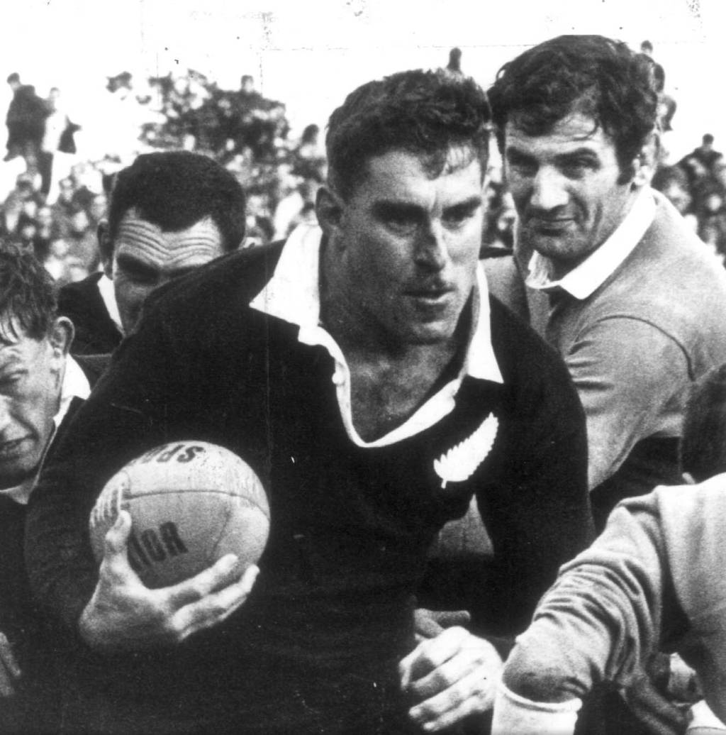 During His Playing Days Colin Meads Was Recognised Throughout The World As Face Of