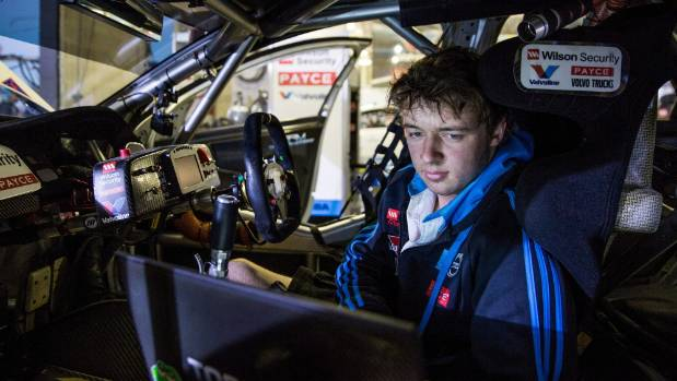 Mitchell Roydhouse has been a mechanic for Garry Rogers Motorsport in the Volvo team in the Australian Supercars ...