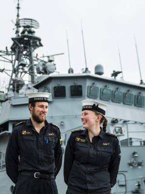 Former Waimea College students Daniel Claus and his sister Monique Claus, among the Navy personnel aboard the HMNZS Te ...