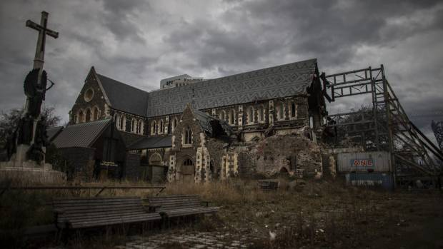 The Christ Church Cathedral has been sitting derelict and open to the elements in the city centre for about five years.
