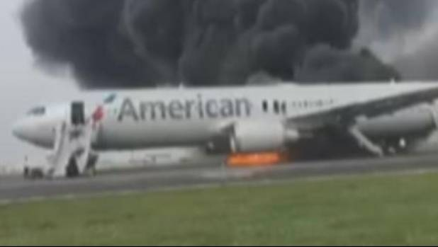Jet That Caught Fire At O'Hare Had Engine Failure