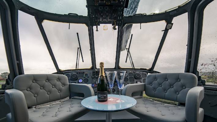 Family Turns Sea King Chopper Into Luxury Holiday Home