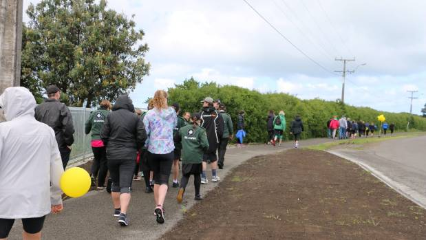 Hawera's popular Denby Rd pathway opened in October  2016.