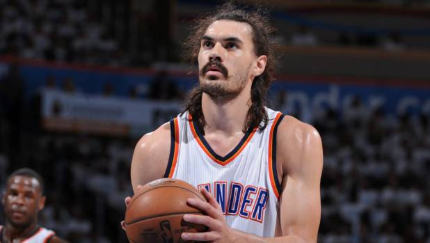 Steven Adams is staying put at the Thunder after agreeing to a $140m contract extension.