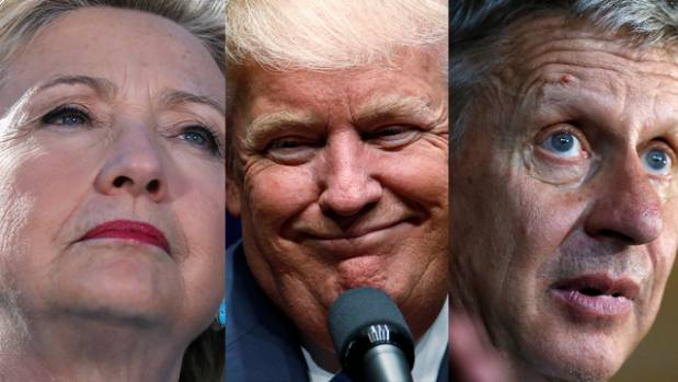 Early exit poll results show divides in Trump-Clinton race