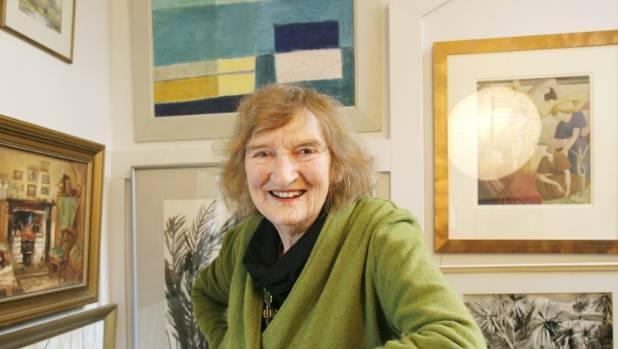 Avis Higgs, painter and textile designer.