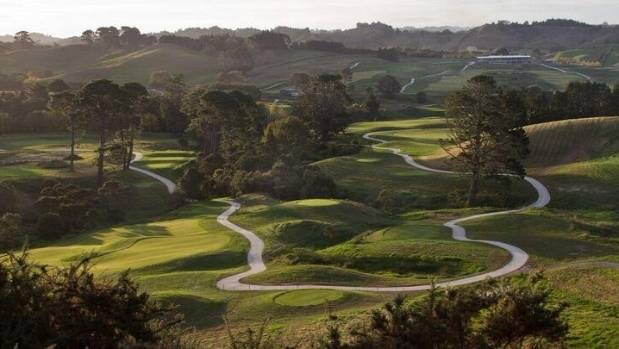 The wainui golf course and multi sport facility opens to for Landscaping courses nz