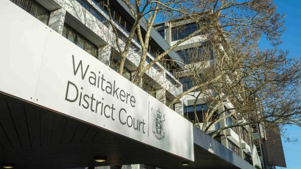 Maria 'Ilaisaane Valu-Pome'e appeared in the Waitakere District Court on Thursday.