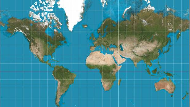 This new map of Earth is unlike anything youve ever seen – Globe Maps of the Earth