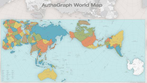 This new map of earth is unlike anything youve ever seen stuff the authagraph world map gumiabroncs Image collections