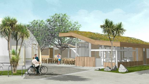 Construction of Christchurchs new edible garden and cafe to start