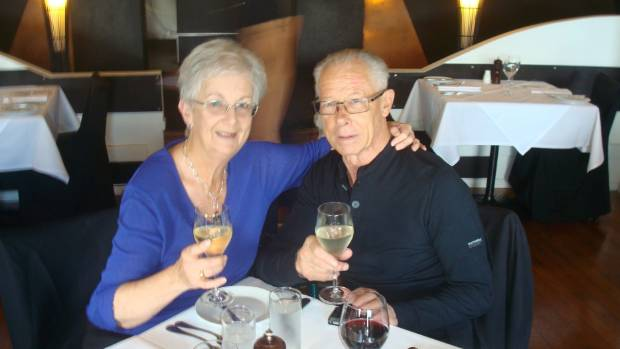 Anne and Dave Murrell celebrating their 50th wedding anniversary.
