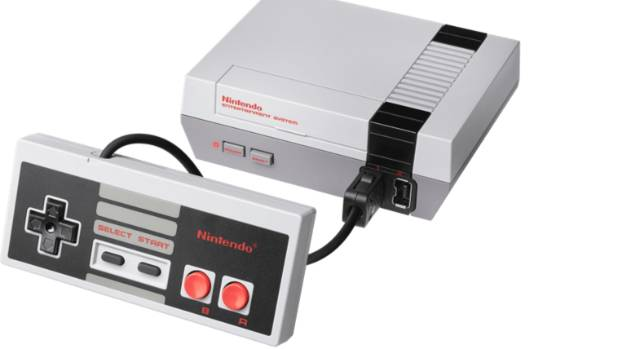Nintendo compact version of its NES console sold for $120 in New Zealand.