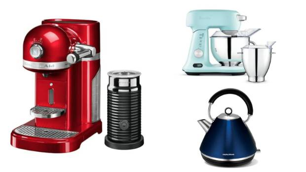 Forget plain white or stainless. Small appliances come in a rainbow of colours to add a pop to your benchtop.