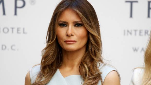 Melania Trump worked as a model in the United States ...