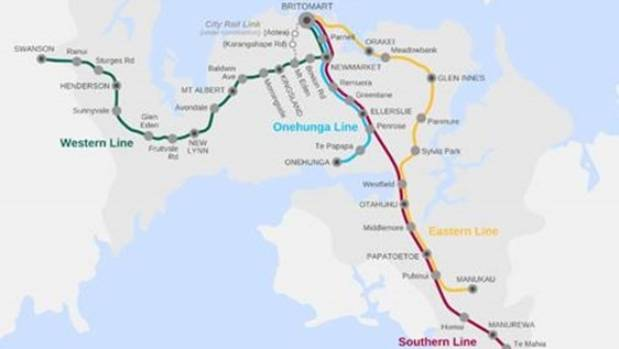 Auckland's train network is facing increasing pressure, with the freight and commuter networks needing to be separated ...