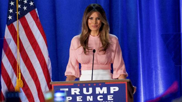 "Melania Trump said her husband would be ""beholden to no one"" except the ""American people""."