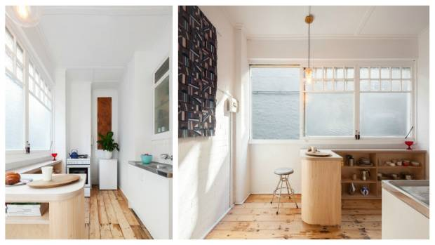 Small Apartments By Necessity Have Tiny Kitchens. This One In Sydney Sits  At One End