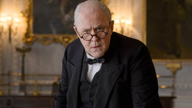 John Lithgow is a commanding presence as Winston Churchill in The Crown.