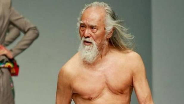 80-year-old Wang Deshun is quite possibly the best-looking elder in China.