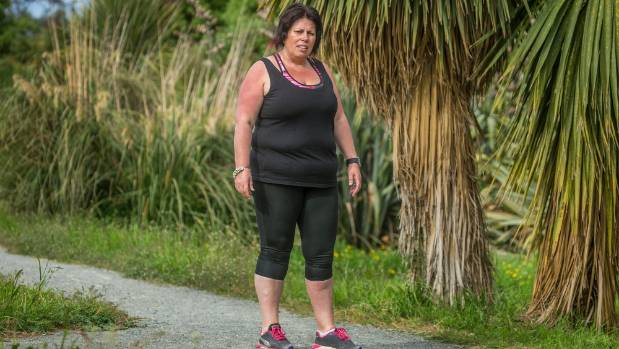 She's doing the fun run herself, and wants to encourage others like her to keep going until they find the fitness ...
