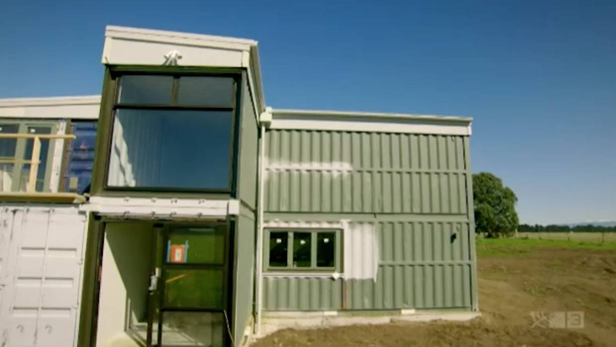 Grand Designs Nz Shipping Container House Proves Ambitious Stuff