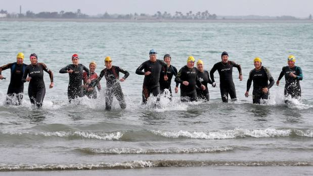 A regular group of ocean swimmer train at Caroline Bay every Saturday morning. Others are welcome to join.