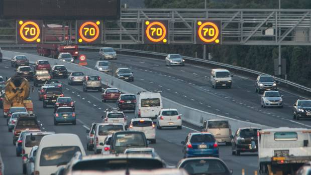 The New Zealand Transport Agency says drivers are not sticking to the speed limit on Wellington's smart motorway, on ...