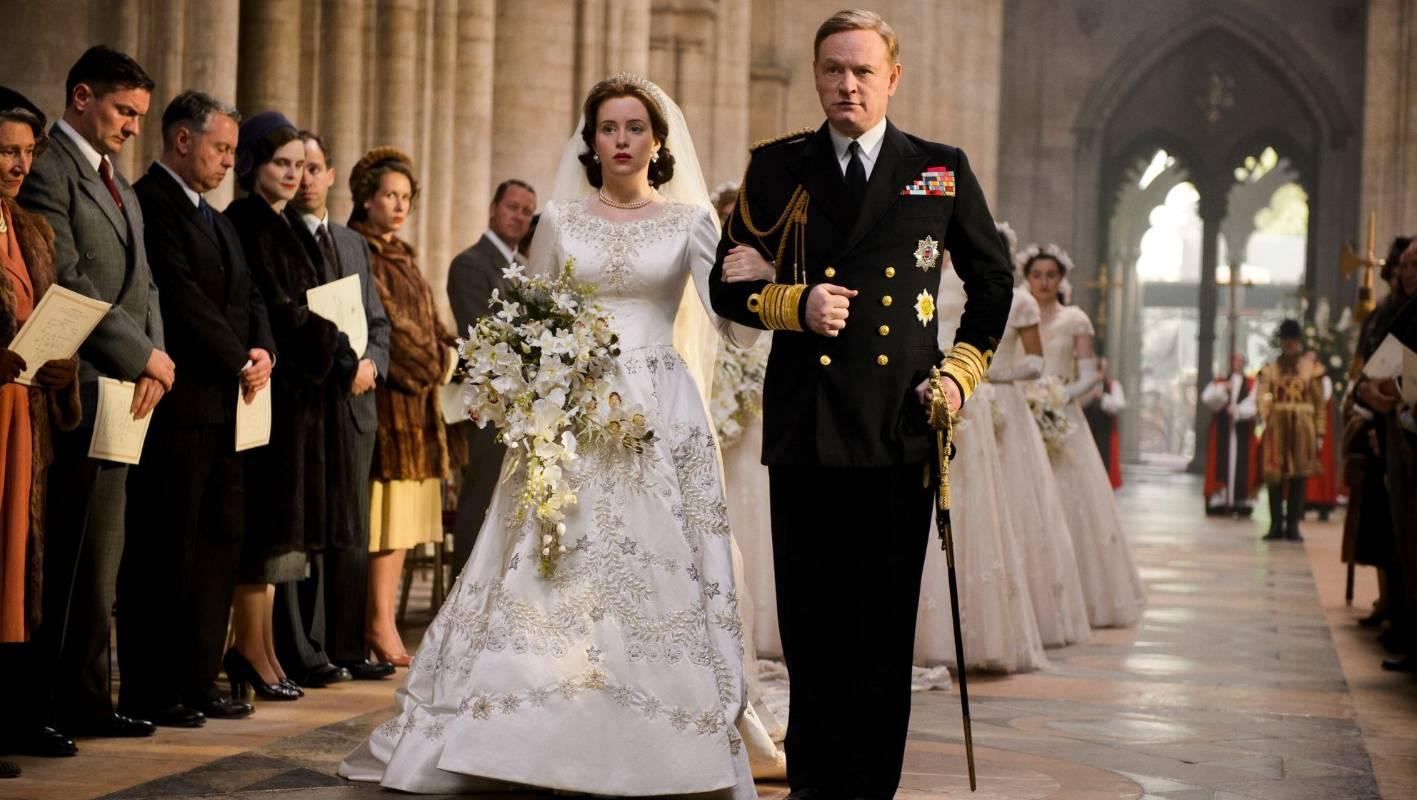 Queen Elizabeth Ii Wedding.The Crown Depicts Queen Elizabeth Ii S Wedding As Anything But A