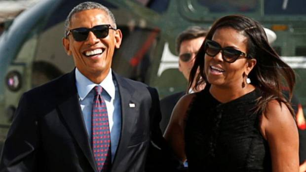 The Obamas Are in French Polynesia With Springsteen, Oprah, and Tom Hanks