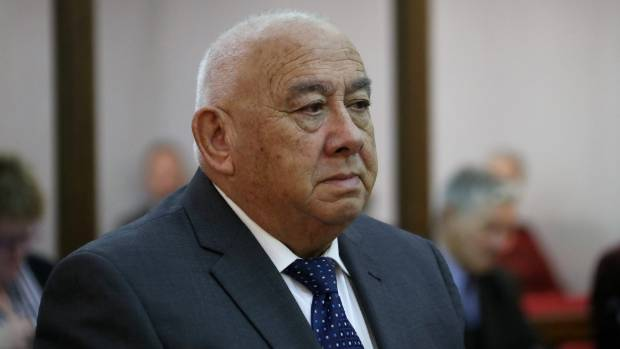 Sir Ngatata Love, pictured here in the Wellington High Court in September last year, is currently serving a ...