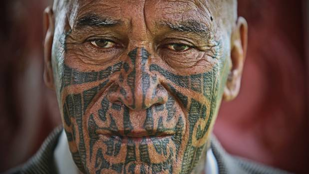 "Ngapuhi elder, Kingi Taurua at Waitangi last year. He's ""embarrassed"" by the way some of his iwi have treated the Prime ..."