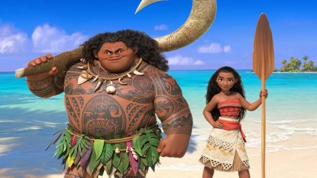 Disney's new blockbuster, Moana.