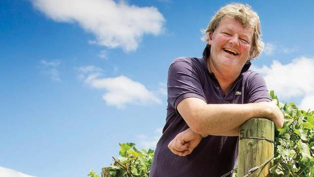 Mahana Estate winemaker Michael Glover.