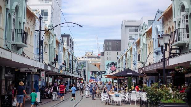 New Regent St is a popular destination for both international and domestic visitors to Christchurch.