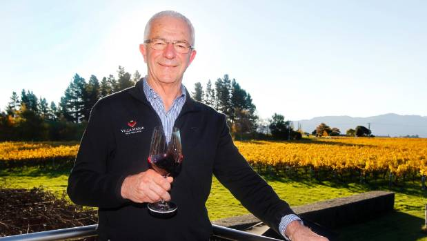 Villa Maria founder and managing director Sir George Fistonich at the company's Marlborough winery.