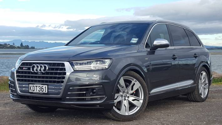 Audi Sq7 Super Suv Finds Success In Excess Stuff Co Nz