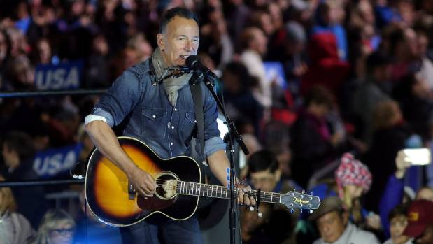 Springsteen: Trump 'has a profound lack of decency'