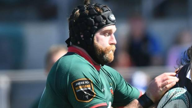 Open side Eddie Cranston had a strong game on the open side against Nadi
