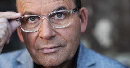 Kiwi radio and television broadcaster Paul Henry had to share the stage tonight on new show, The Project.
