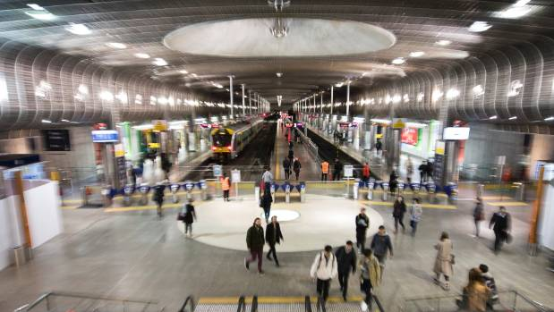Auckland Transport are advising passengers to expect delays after fixing a track fault near Britomart Transport Centre.