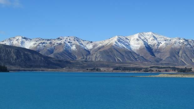 More than half of Lake Tekapo's 83 square kilometre lake floor is covered in landslide deposits, some spreading more ...