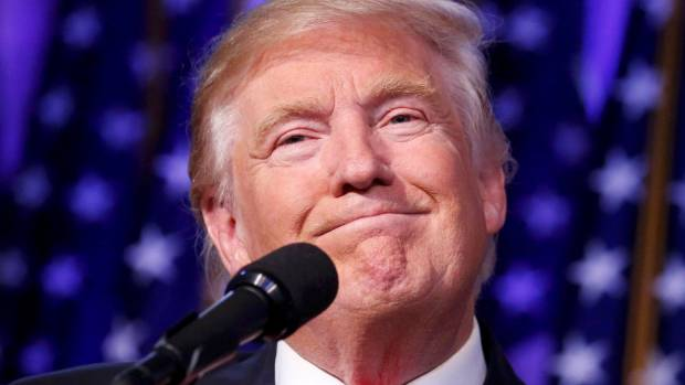 President-elect Donald Trump was conciliatory in his victory speech.